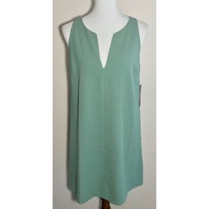 Lulu Teal Green Key Hold Back Sleeveless Dress